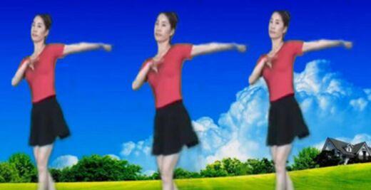 情有独钟舞蹈《北江美》原创附教学口令分解动作演示
