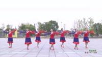 湖南常德万方广场舞蹈队 雪山姑娘 表演 团队版