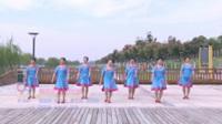 雪枫广场舞 美丽的雪山姑娘 表演 团队版
