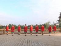 湖北麻城万家堰长江丽都舞蹈一队广场舞  雪山姑娘 表演 团队版