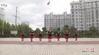 武汉黄陂横店快乐姐妹舞蹈队广场舞《雪山姑娘》表演 团队版