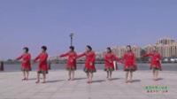 河南驻马店官庄镇夕阳红舞蹈队 美丽的雪山姑娘 表演 团队版