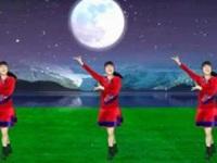 太湖一莲广场舞《草原的月亮》原创草原水兵风 附正背面口令分解教学演示