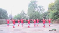 湖南常德演舞堆社区健身队 雪山姑娘 表演 团队版