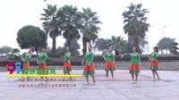 湖南省岳阳飞舞酷妈舞队 草原的月亮 表演 团队版