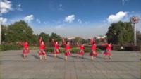 含山仙踪金凤协会广场舞 草原的月亮 表演 团队版