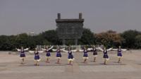 河南上蔡追梦舞蹈队广场舞 雪山姑娘 表演 团队版
