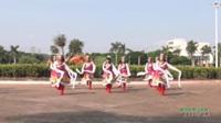 广东省湛江市开发区东简镇东南快乐舞队 美丽的雪山姑娘 表演 团队版