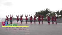 广东省湛江市赤坎区御景红月亮健身队 雪山姑娘 表演 团队版