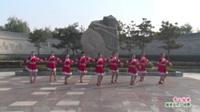 河南省洛阳市洛宁县如花似锦广场舞队广场舞  雪山姑娘 表演 团队版