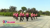 河南省信阳市羊山凤英姿队一队广场舞  雪山姑娘 表演 团队版
