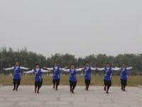 中国男子广场舞不老松明星队广场舞 雪山姑娘 表演 团队版