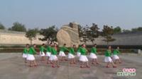 河南省洛宁县舞动青春玲花队广场舞  雪山姑娘 表演 团队版