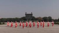 后聂村舞飞扬舞蹈队广场舞 雪山姑娘 表演 团队版