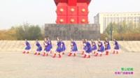 获嘉县云玲珑舞蹈队广场舞 雪山姑娘 表演 团队版
