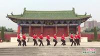 河南省洛阳市伊川县罗村宏达舞蹈队广场舞  雪山姑娘 表演 团队版