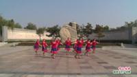 河南省洛宁县亿客隆健身一队广场舞  雪山姑娘 表演 团队版
