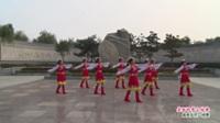 河南省洛宁县水之韵广场舞队广场舞  美丽的雪山姑娘 表演 团队版