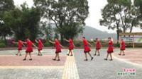 广西桂林市灌阳县黄关镇文明姐妹健身队广场舞  雪山姑娘 表演 团队版