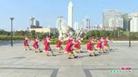 广西贵港市心雪广场舞队广场舞   雪山姑娘 表演 团队版