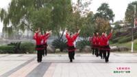 桂林市灌阳县长坪村花山队广场舞  飞歌醉情怀 表演 团队版