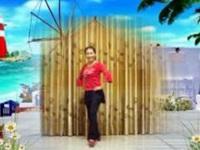 三里舞姿广场舞《我的情书》原创舞蹈 正背面演示
