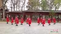 广西桂林市灌阳县文市镇婷婷飞舞健身队广场舞  雪山姑娘 表演 团队版