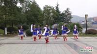 广西桂林灌阳县绣球舞蹈队广场舞  雪山姑娘 表演 团队版