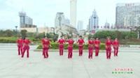 广西贵港市港南区罗泊湾群星舞蹈队舞蹈   我们的钓鱼岛 表演 团队版