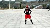 广场舞  雪山姑娘正背面演示及慢速口令教学