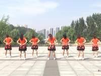山东兖矿舞之缘广场舞 中国娃娃 背面展示
