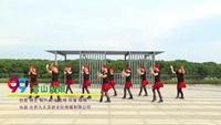 信丰大阿魅力健身队广场舞 雪山姑娘 表演 团队版 经典正背面演示及口令分解动作教学