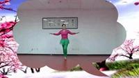 乐园冰雪舞蹈16步恰恰舞《桃花运》16步舞蹈视频原创附教学口令分解动作演示