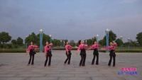 和县功桥汤城悦动舞队广场舞 敖包再相会 表演 团队版 正背面演示及慢速口令教学