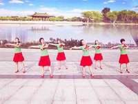 黄骅恋雪广场舞 爱是一首歌 表演