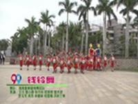 海南爱美健身广场舞 钱铃舞 表演 完整版演示及口令分解动作教学