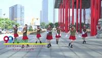 武汉沌口舞动健康队广场舞 雪山姑娘 表演 团队版 口令分解动作教学