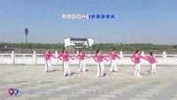 郎溪十字商贸城广场舞 敖包再相会 表演 口令分解动作教学演示