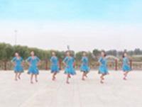 山东滕州协会红荷舞韵广场舞 雪山姑娘 表演 口令分解动作教学