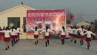 黄牌红花正艳广场舞=雪山姑娘正背面演示及口令分解动作教学