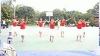 杨二舞蹈队《雪山姑娘》编舞;廖弟正背面演示及口令分解动作教学和背面演