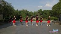 武汉四公司舞队广场舞 雪山姑娘 表演 团队版 经典正背面演示及口令分解动作教学