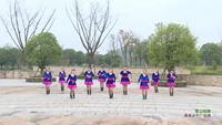 湖南郴州市开心快乐舞队 雪山姑娘 表演 个人版 正反面演示及分解动作教学