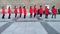 <雪山姑娘》河北宣化《快乐炫舞》舞队19步花样跳原创附正背面教学口令分解动作演示
