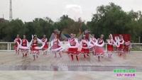 郑州蓝堡湾尚枫舞蹈队美丽的雪山姑娘表演团队版 口令分解动作教学