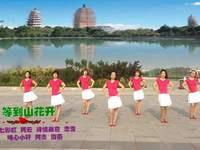 黄骅恋雪广场舞 等到山花开 表演
