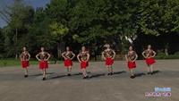 长青街舞之韵舞蹈队二队广场舞 雪山姑娘 表演 团队版 原创附正背面教学口令分解动作演示