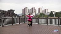 王根水与沈雪珍交谊舞 雪山姑娘 表演 双人版 附正背表演口令分解动作分解教学