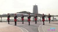 西安恒大名都缘梦广场舞 雪山姑娘 表演 经典正背面演示及口令分解动作教学