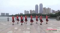 南昌恒韵夕阳红广场舞 美丽的雪山姑娘 表演 原创附正背面教学口令分解动作演示